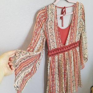 Flowy dress 🧡